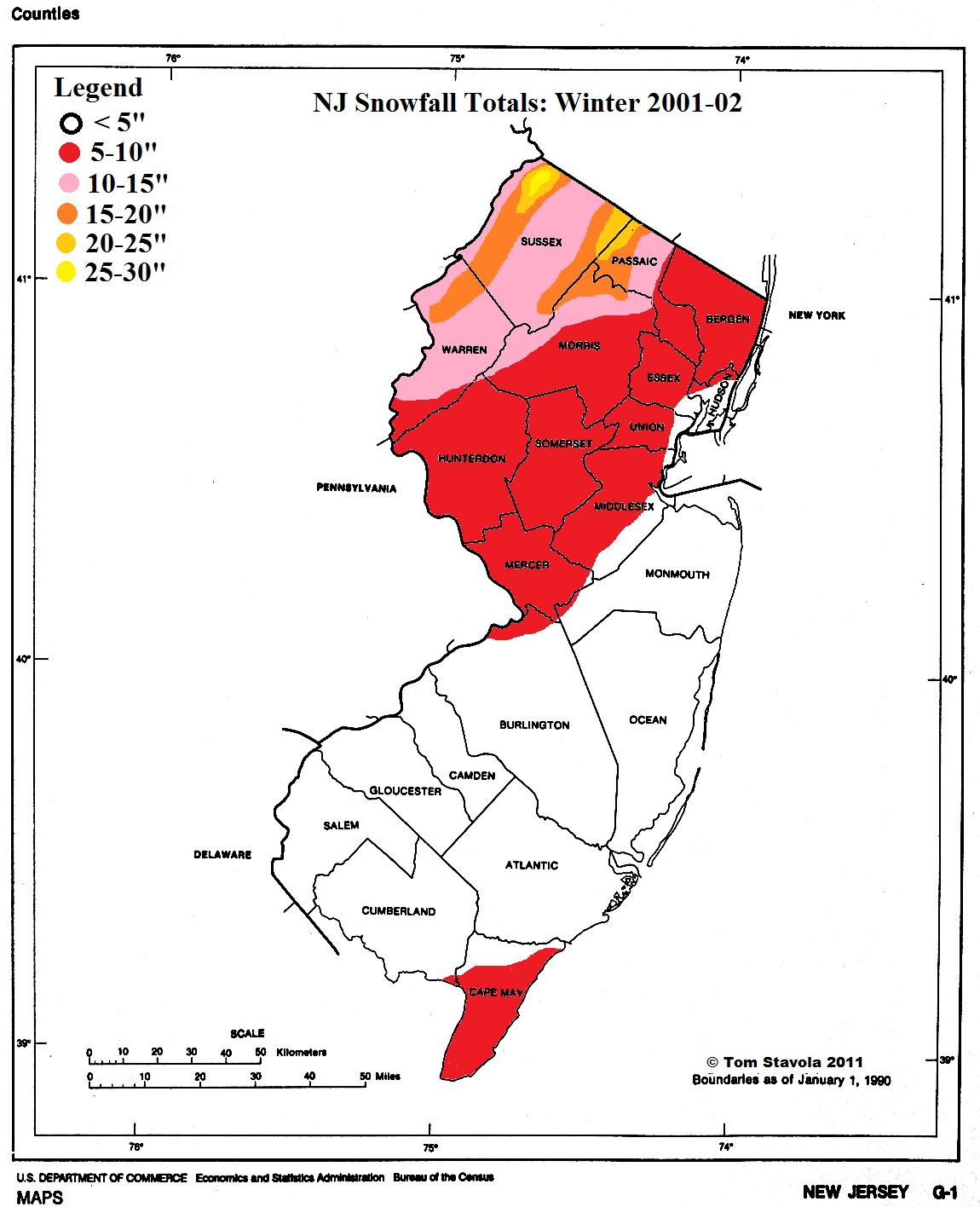 NJ 2001 to 2002
