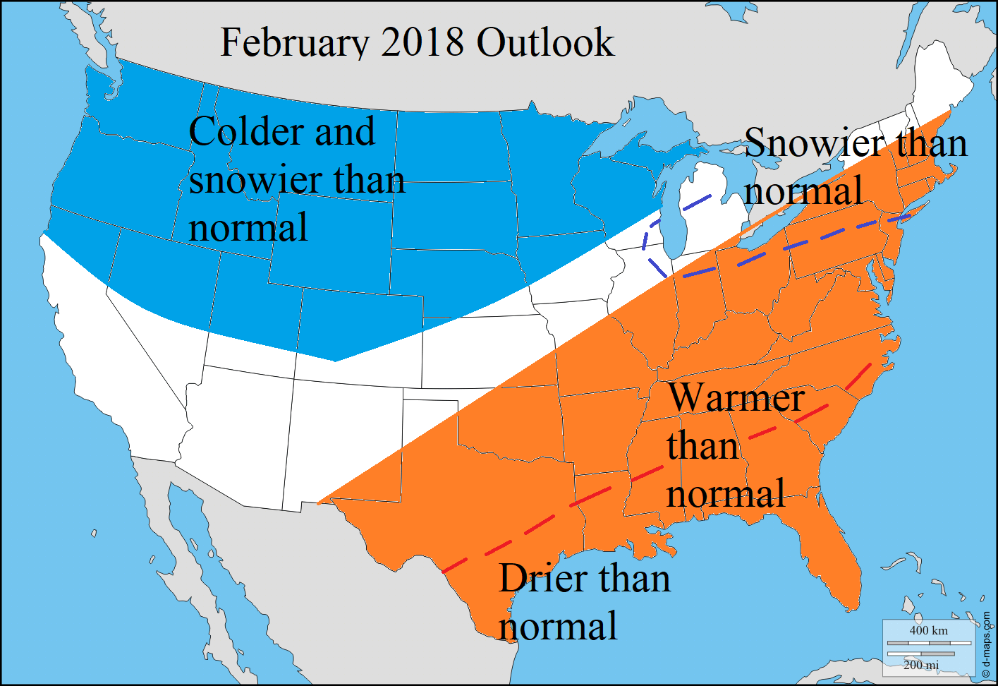 Weather predictions for winter 2017 download pdf for Winter 2018 predictions farmers almanac