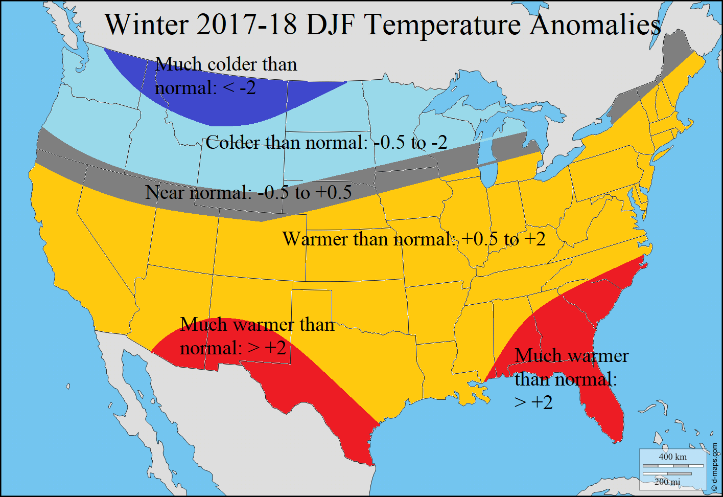 WINTER DJF FORECAST TEMPS